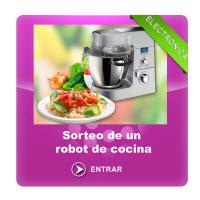 sorteo robot de cocina
