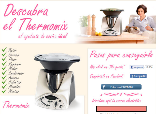 Sorteos de Thermomix 2012
