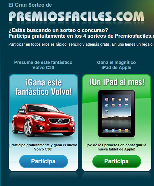 Volvo en Premiosfaciles
