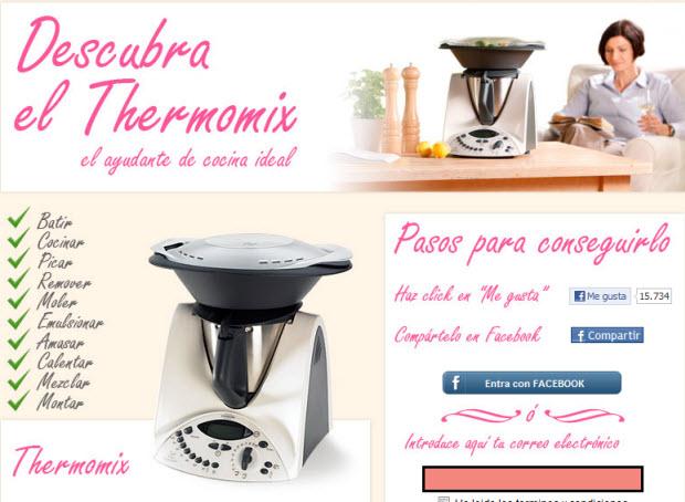 sorteo de thermomix