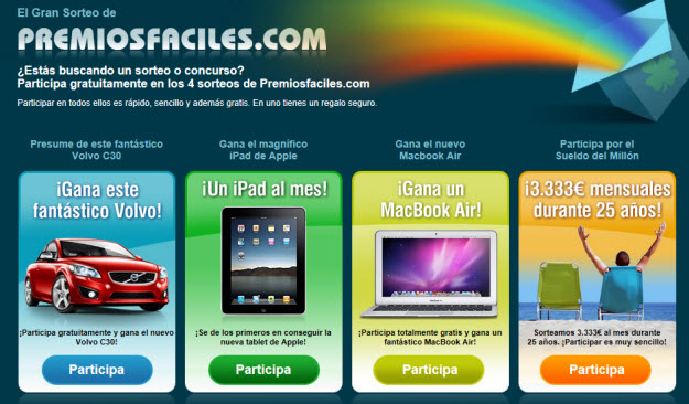 Premiosfaciles sorteo MacBook Air