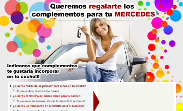 Sorteo Mercedes