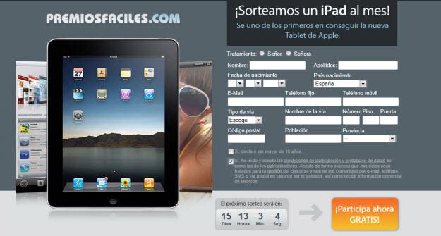 Como conseguir un iPad gratis