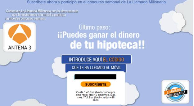 Sorteo de hipoteca gratis en Movilisto Hipoteca
