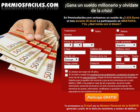 Aprovecha los concursos para ganar premios online: sueldazo de 3333 euros