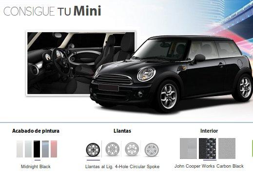 Consigue tu Mini completamente gratis