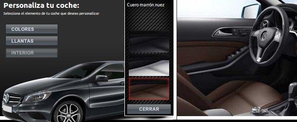Gana un Mercedes y personalízalo a tu gusto