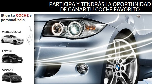 Participa en el sorteo Mercedes online