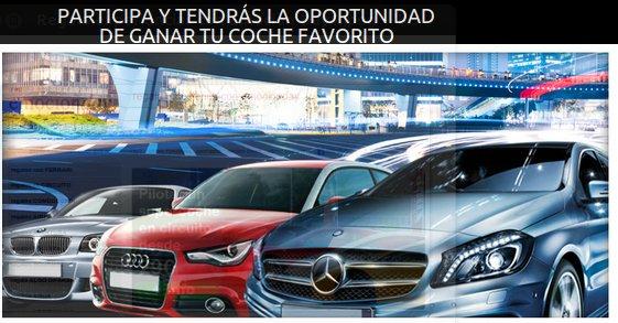 Participa en el sorteo coches de lujo y llévate un Mercedes o un Mini