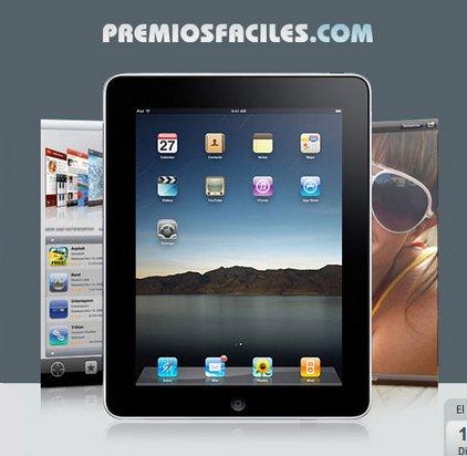 Participa en los sorteos gratis en Internet y gana un iPad