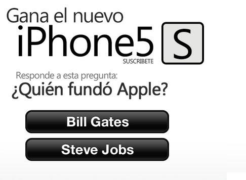 concurso iPhone 5