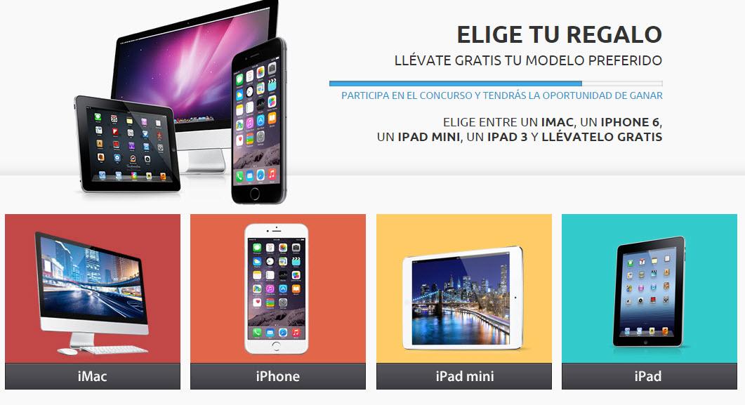 concursos de electrodomesticos online