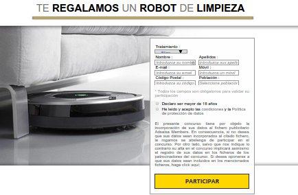 sorteo robot aspirador
