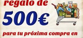 Sorteo Carrefour: un cheque de compra de 500 euros gratis