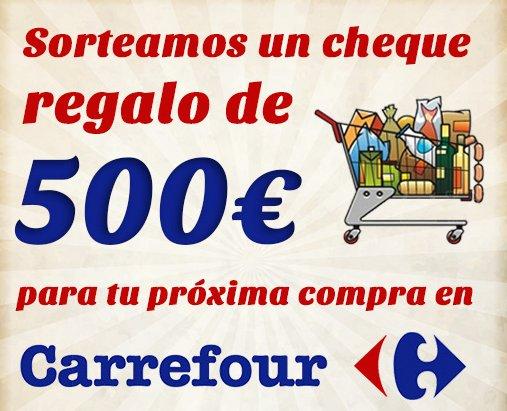 sorteo Carrefour