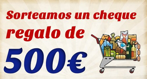 Sorteo Carrefour cheque regalo