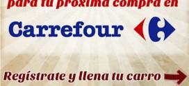 Sorteo Carrefour 2015: condiciones del cheque regalo