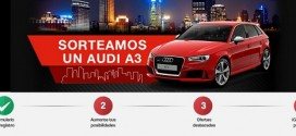 Sorteo coche Audi A3 gratis: condiciones del concurso