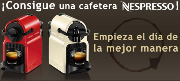 sorteo cafetera nespresso