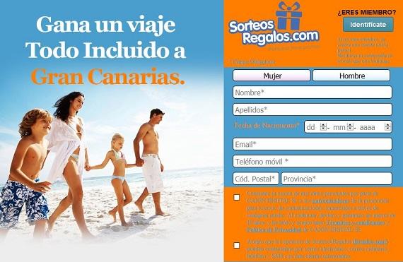 sorteos viajes 2017 online