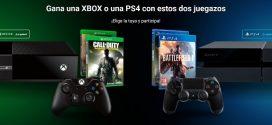 Sorteo de consola Xbox y Ps4: concurso gratis y online