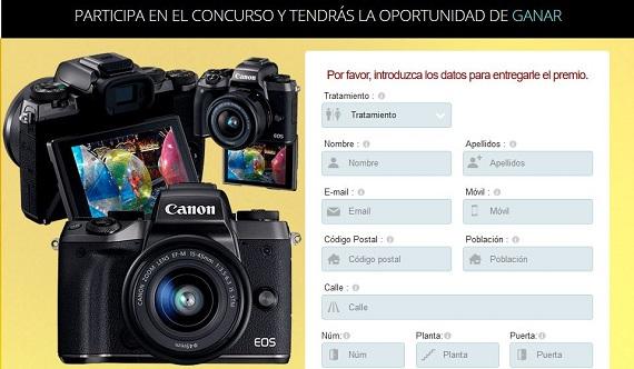 concurso cámara de fotos