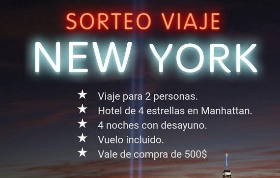 sorteo viaje a nueva york