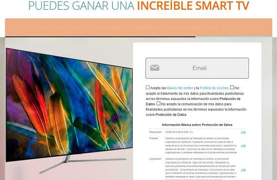 concurso smart tv