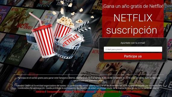 sorteo netflix online